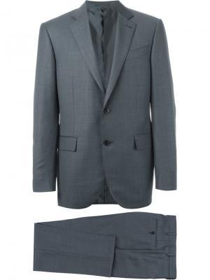 Классический костюм Ermenegildo Zegna. Цвет: синий