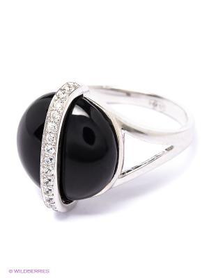 Кольцо BALEX. Цвет: серебристый, черный