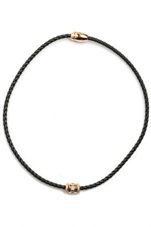 Чокер-браслет Beatrici Lux. Цвет: черный
