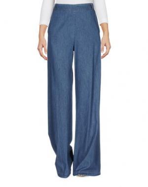 Джинсовые брюки MYF. Цвет: синий