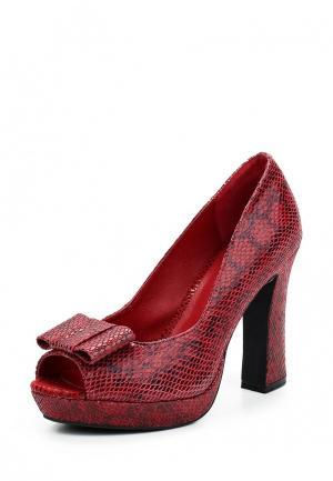 Туфли Apart. Цвет: красный