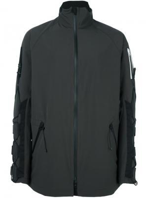 Спортивная куртка на молнии Y-3. Цвет: серый
