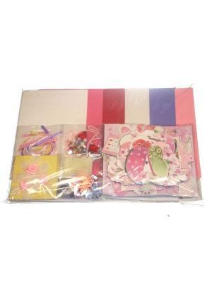 Набор Сделай 18 открыток Азбука Тойс. Цвет: розовый