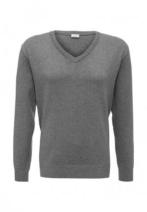 Пуловер Stenser. Цвет: серый