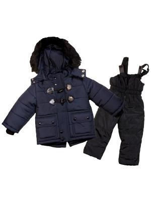 Зимний комплект babyAngel. Цвет: синий