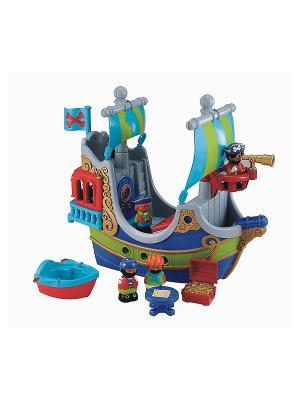 Пиратский корабль (серия Фэнтези) ELC. Цвет: синий, голубой, серый