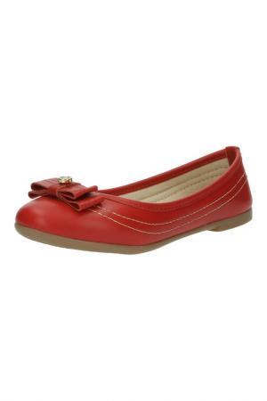 Туфли KLIN. Цвет: красный