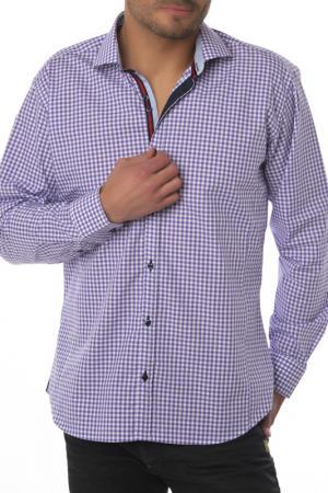 Рубашка GAZOIL. Цвет: фиолетовый