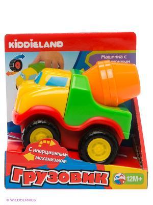 Развивающая игрушка Бетономешалка Kiddieland. Цвет: зеленый, желтый