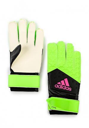Перчатки вратарские adidas Performance. Цвет: разноцветный
