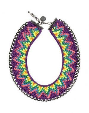 Ожерелье VENESSA ARIZAGA. Цвет: фиолетовый