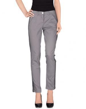Повседневные брюки L'AIR DE RIEN. Цвет: серый