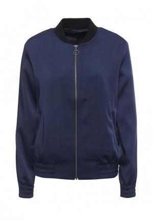 Куртка Topshop. Цвет: синий