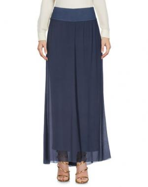 Длинная юбка EUROPEAN CULTURE. Цвет: темно-синий