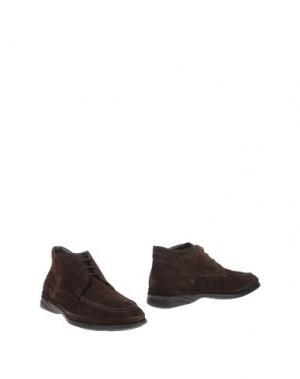 Полусапоги и высокие ботинки SAMSONITE FOOTWEAR. Цвет: темно-коричневый