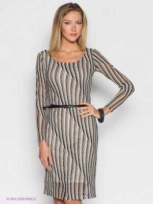 Платье Hammond. Цвет: черный, серый, белый