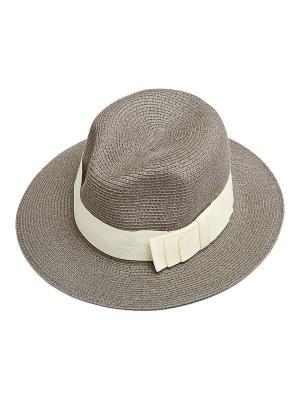 Шляпа Kameo-bis. Цвет: серый, белый