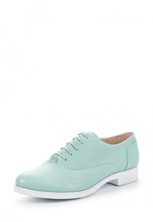 Ботинки Covani. Цвет: мятный