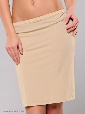 Нижняя юбка (подъюбник) BlackSpade. Цвет: бежевый
