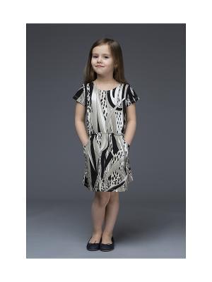 Платье Mammi. Цвет: серый