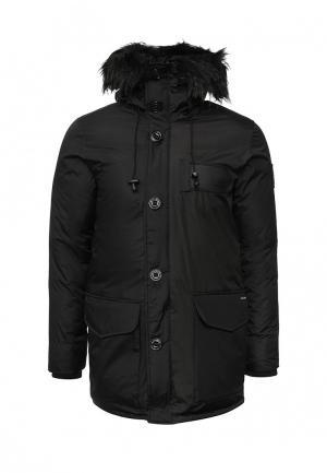 Куртка утепленная Kamora. Цвет: черный