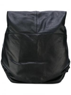Рюкзак с панельным дизайном Côte&Ciel. Цвет: чёрный