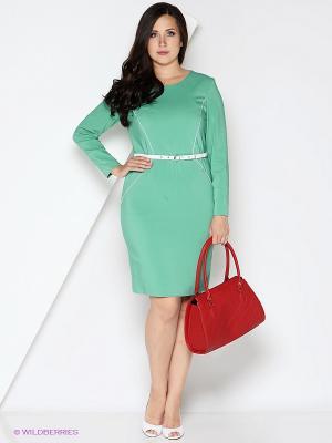 Платье КАЛIНКА. Цвет: зеленый