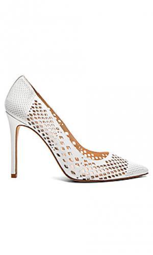 Туфли на каблуке nico Vince Camuto. Цвет: белый