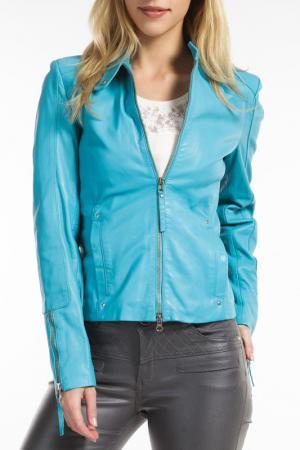 Куртка Ibana. Цвет: голубой