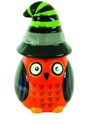 Набор: солонка и перечница All Owls Eve Witch BOSTON. Цвет: оранжевый