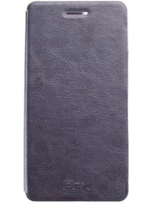 Huawei Honor 6 Plus skinBOX Lux. Цвет: серый, темно-серый