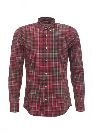 Рубашка Galvanni. Цвет: бордовый