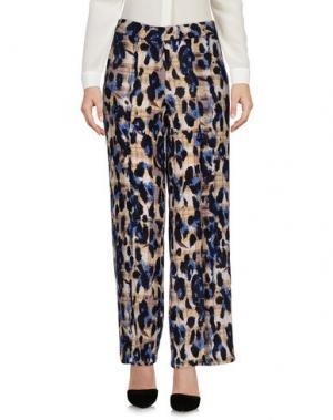 Повседневные брюки CUTIE. Цвет: пастельно-синий