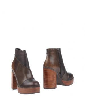 Полусапоги и высокие ботинки POLICE 883. Цвет: какао