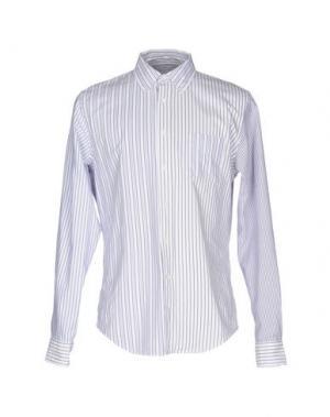 Pубашка WOOSTER + LARDINI. Цвет: белый