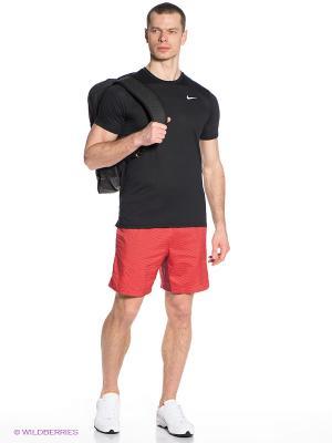 Шорты 7 PRINTED DISTANCE SHORT Nike. Цвет: красный