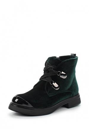 Ботинки Patrol. Цвет: зеленый