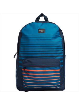 Рюкзак ALL DAY (FW17) BILLABONG. Цвет: темно-синий, синий, рыжий