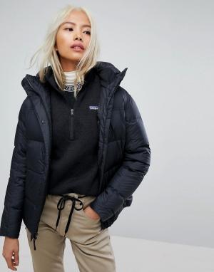 Patagonia Черная куртка. Цвет: черный