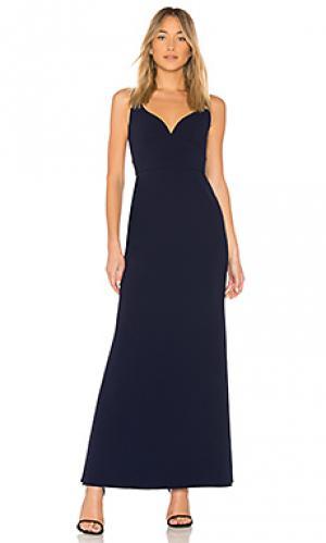 Вечернее платье sweetheart JILL STUART. Цвет: синий