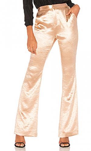 Расклешенные брюки mirabella THE JETSET DIARIES. Цвет: металлический золотой