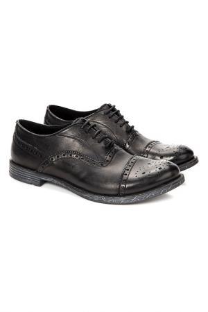 Ботинки Trussardi Collection. Цвет: черный