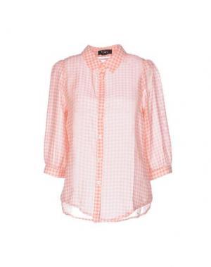 Pубашка CUTIE. Цвет: лососево-розовый
