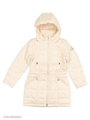 Пальто Finn Flare. Цвет: молочный