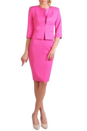Пиджак JUNONA. Цвет: pink