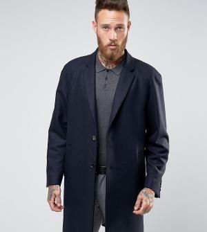 Heart & Dagger Oversize-пальто. Цвет: темно-синий