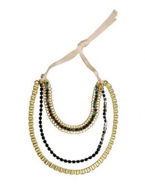Ожерелье NUR DONATELLA LUCCHI. Цвет: золотистый