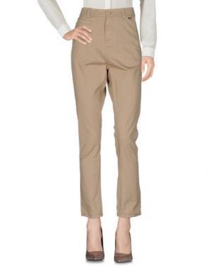 Повседневные брюки BOMBOOGIE. Цвет: бежевый