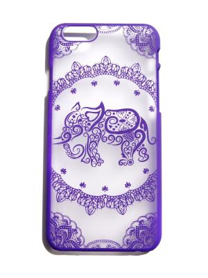 Чехол для Iphone 6/6s Слон Lola. Цвет: фиолетовый