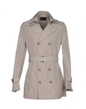 Легкое пальто DAVID NAMAN. Цвет: бежевый